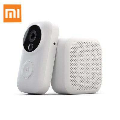 Xiaomi AI Face Identification 720P IR Night Vision Video Doorbell Set Motion Detection SMS Push