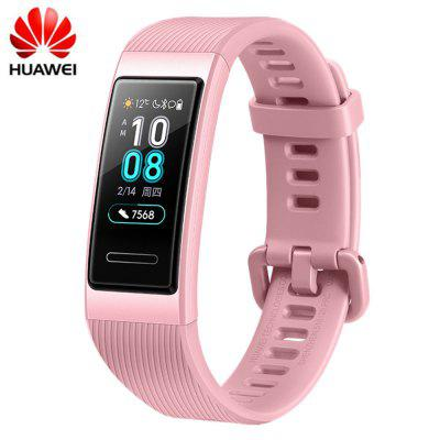 Huawei Band 3 Smart Wristband Amoled Color Touchscreen Swim Stroke Heart Rate Sensor Sleep Bracelet