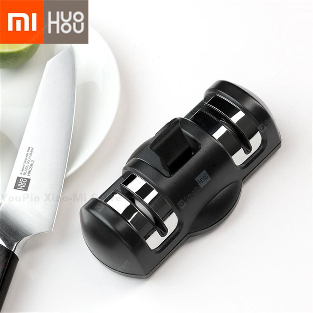 XIAOMI HUOHOU Sharpen Stone Double Whetstone Sharpeners Knife Sharpening Grindstone Kitchen Tools