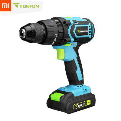 XIAOMI  3 in 1 20V Rechargable Impact Drill Cordless Electric Screwdriver Drill with Bits