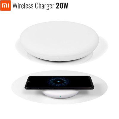 Original Xiaomi Wireless Charger 20W Max Qi Smart Type-C Quick Charge for Mi 9 MIX 2S 3 Smartphone