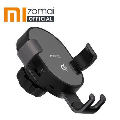 Xiaomi 70mai Qi Wireless Car Charger Bracket 10W Fast Charging Holder for iPhone Samsung Huawei