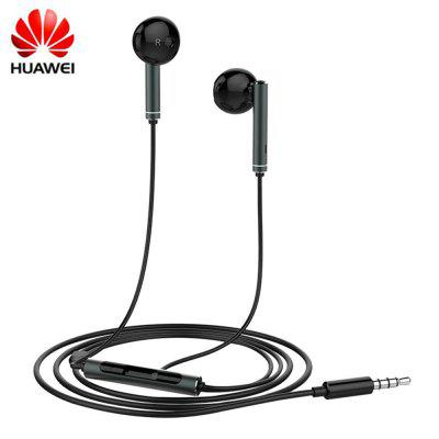 Original Huawei AM116 Half In-ear Earphone with Mic Volume Control Speaker Metal Headset