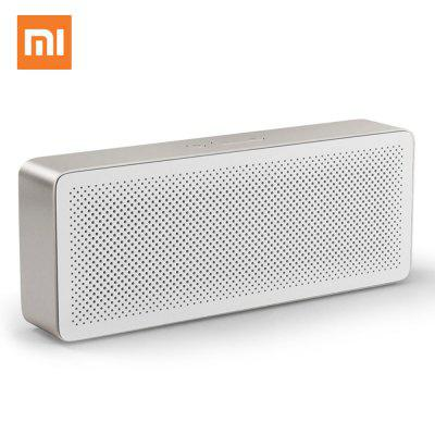 Original Xiaomi Portable Bluetooth 4.2 Speaker Square Box Generation 2 Stereo Wireless Music Player