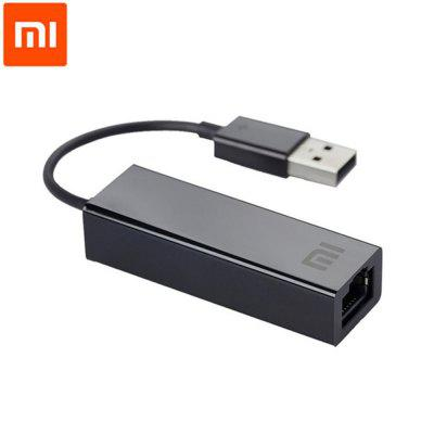 Original Xiaomi USB to RJ45 External Fast Ethernet Card Adapter Converter for Xiaomi TV Box Laptop