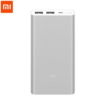 Original Xiaomi 10000 mAh Mobile Power Bank 2 Fast Charging External Battery