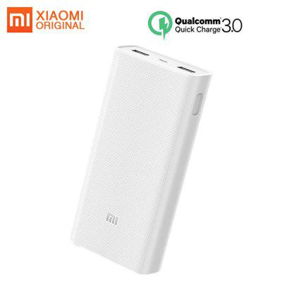 Original Xiaomi Power Bank 2C 20000mAh QC3.0 Charger Portable External Battery for iPhone Samsung