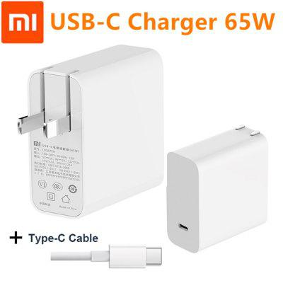 Original Xiaomi CDQ07ZM USB-C 65W Power Adapter Smart Output Type-C Port PD Quick Charge QC 3.0