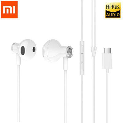 Original Xiaomi BRE02JY Type-C Dynamic Earphone In-Ear Wired Control Dual Driver Headsets