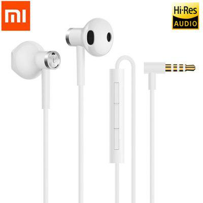 Original Xiaomi BRE01JY Hybrid DC Dual Driver Earphone Half In-Ear Wired Control 3.5mm Headsets