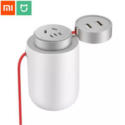 Original Xiaomi Mijia 100W Portable Car Power Inverter Converter DC 12V to AC 220V Charger
