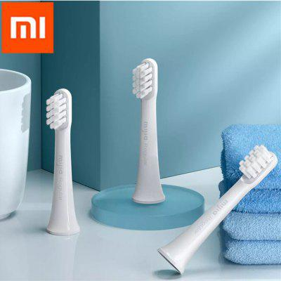 3Pcs Original Xiaomi Mijia MBS302 Universal Replacement Toothbrush Head for T100 Electric Toothbrush