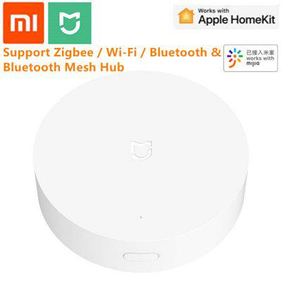 Xiaomi Mijia Smart Multi-Mode Gateway ZigBee 3.0 WIFI Bluetooth Mesh App Control Apple Homekit Hub