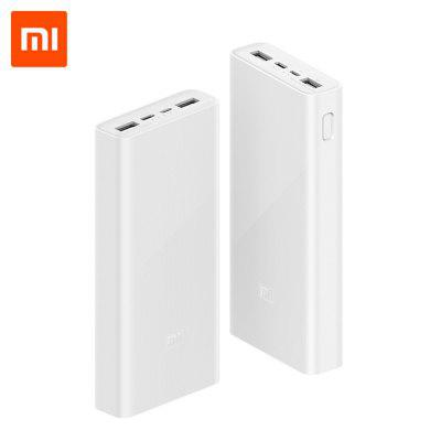 Xiaomi Power Bank 3 PLM18ZM 20000mAh Type-C Micro Input External Battery for iPhone 11 Pro X Samsung