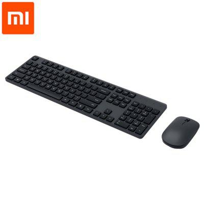 Original Xiaomi Wireless 104 Keys Keyboard Mouse Set Office Accessories with 2.4 GHz USB Receiver