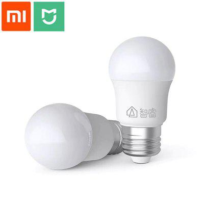 Xiaomi Mijia Zhirui E27 LED 220V 5W Bulb White Light Energy Efficient for Ceiling Lamp Table Lamp