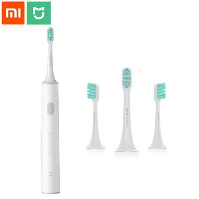 Xiaomi Mijia Sonic Rechargeable Electric Toothbrush T300 and Original Replacement Toothbrush Head