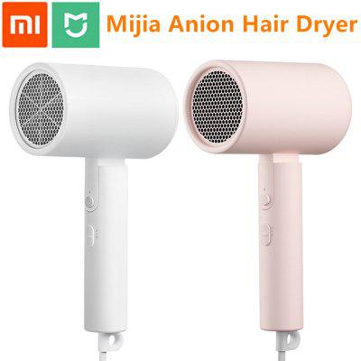 Xiaomi Mijia Portable Anion Hair Dryer 1600W Professinal Quick Drying Travel Home Foldable Hairdryer