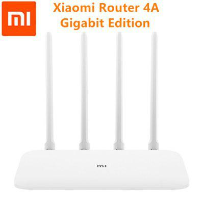 Xiaomi Router 4A Gigabit Edition 2.4GHz 5GHz WiFi 16MB ROM 128MB DDR3 4 Antenna Repeater APP Control