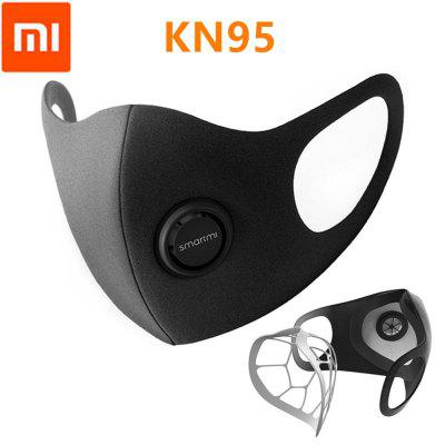 Gearbest Smartmi KN95 Mask Anti-Haze Professional 5-Layer Nonmedical Protective Face Cover from Xiaomi Youpin