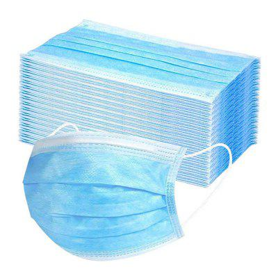 Disposable 3-layer Non-Woven Face Mask Anti Dust Non Medical Safety Mouth Muffle