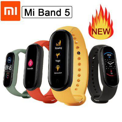Xiaomi Mi Band 5 / 5 NFC Version Smart Wristband 1.1 inch Color Screen Bracelet with Magnetic Charging 11 Sports Model Bluetooth 5.0 Remote Camera