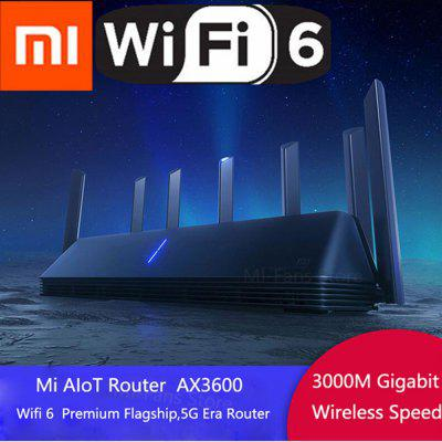 Xiaomi AIoT Router AX3600 Wifi 6 5G Dual-Band 3000Mbps Gigabit Rate Qualcomm A53 External Signal Amplifier