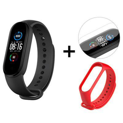 Xiaomi Mi Band 5 / 5 NFC Version Smart Wristband 1.1 inch Color Screen Bracelet 11 Sports Model Bluetooth 5.0 Remote Camera with Magnetic Charging