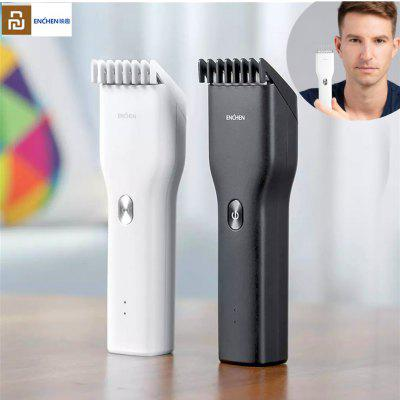 Original ENCHEN Boost Electric Hair Trimmer Powerful Clipper Cordless USB Rechargeable Hair Cutter Men Kids Trimmer Clipper from Youpin