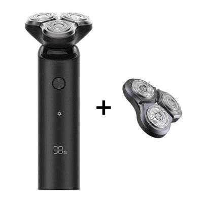 Original Xiaomi Mijia 360 Degree Float Electric Shaver S500 IPX7 Waterproof Portable Type-C Charging 3 Head Dry Wet Dicyclic Blade Razor / Cutter