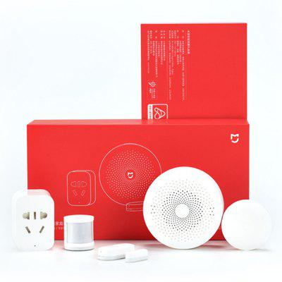 Original Xiaomi Mijia 5 in 1 Smart Home Security Set Gateway Door Window Sensor Wireless Switch Socket