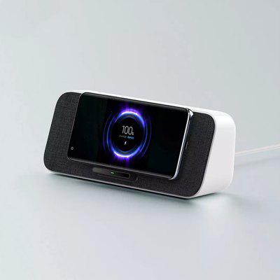 Xiaomi 2 in 1 Bluetooth 5.0 Speaker Dual Bass 30W MAX Qi Wireless Charger Dock for iPhone Samsung