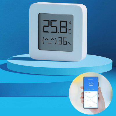 combo bluetooth wireless magnetic monitor smart sensor data logger temperature humidity controller thermostat weather station Xiaomi Mijia Bluetooth Temperature Humidity Sensor Monitor 2 Smart Digital Thermometer Hygrometer