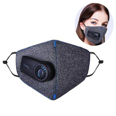 Purely Anti-Pollution Mask Rechargeable Anti Dust Breathing Respirator Face Cover