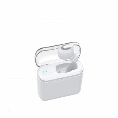 Z-YeuY T1 Wireless Bluetooth Mini Invisible  Single Ear Sports Headphones with Charging Warehouse