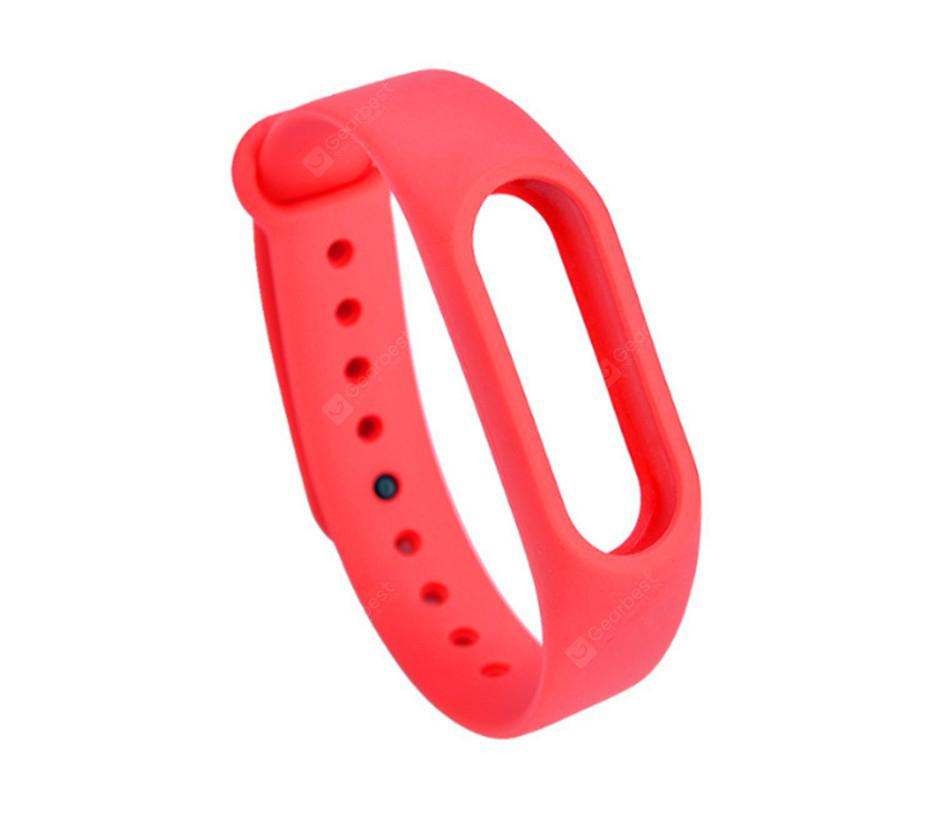 Applicable millet bracelet 2 silicone strap monochrome replacement wristband sports bracelet