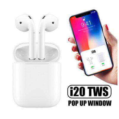 i20 TWS Bluetooth Touch Control Pop-up Headphone para iOS y Android