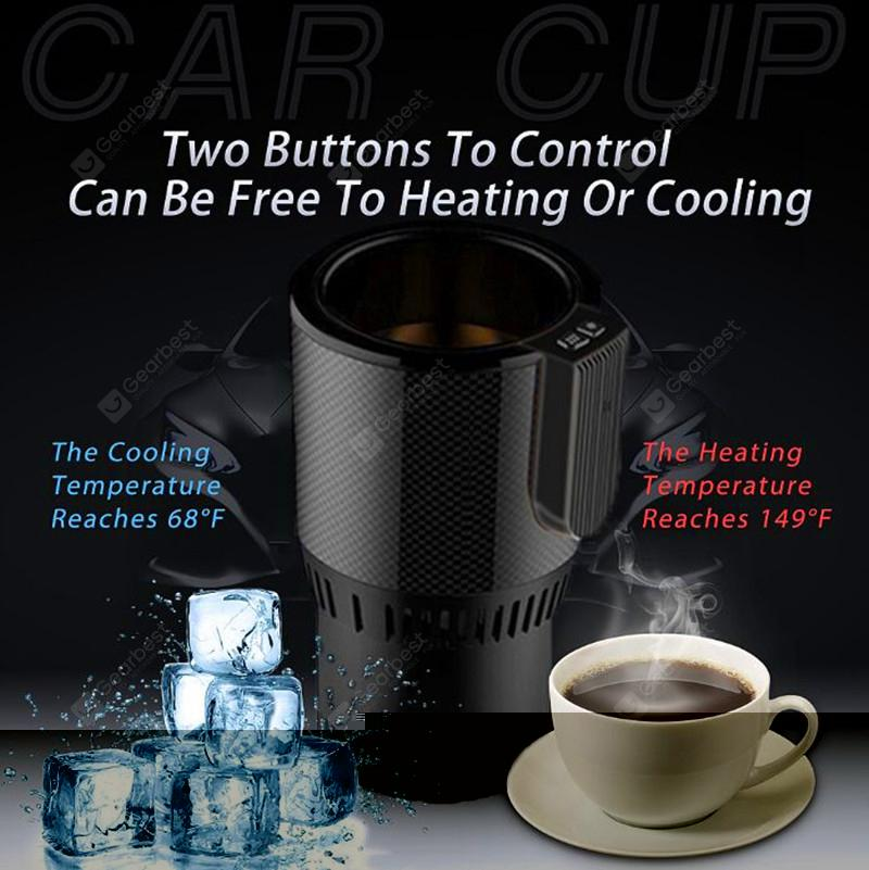 Intelligent car hot and cold water cup f