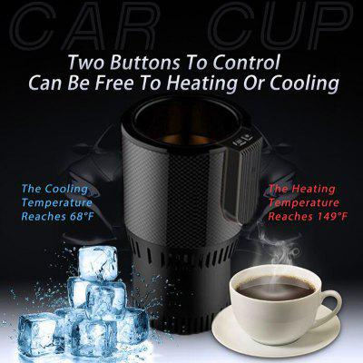 Intelligent car hot and cold water cup fast cooling heating car with home travel insulation cup