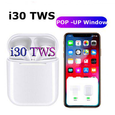 I30 TWS pop-up click control wireless Bluetooth headset 6D subwoofer Bluetooth for iOS and Android