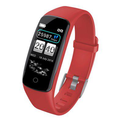 New V80 Smart Bracelet Color Screen Dynamic UI Blood Pressure Heart Rate Sleep Health Monitoring