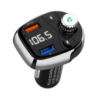 T62 Dual USB Car Fast MP3 Wireless Bluetooth Car MP3 Player FM Transmitter Handsfree Call