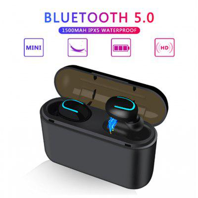 HQB Q32 wireless Bluetooth 5.0 headset hands-free sports stereo bass game headset for Xiaomi