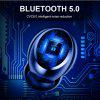 Wireless Bluetooth Headset LED Display with Microphone Waterproof Noise Cancelling Headphones