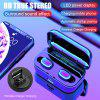 G6S Bluetooth 5.0 wireless sports headset  noise reduction gaming headset with 3500mah charging box