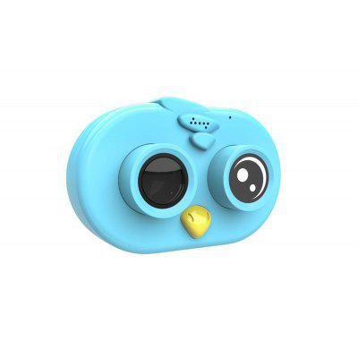 Cute kids macaron multi color true 1080P childrens camera