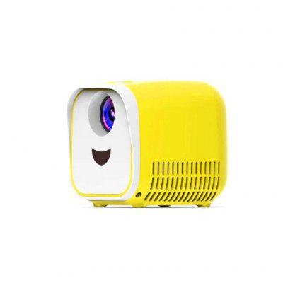 L1 Mini Projector WIFI USB Child Portable Projector 1000 Lumen Mini Video Projector 320x240p