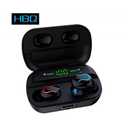 Q82 LED wireless Bluetooth 5.0 hands-free music stereo headset with microphone