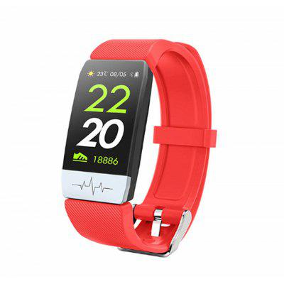 Q1S Smart Band ECG  PPG Fitness Tracking Heart Rate Blood Pressure IP67 Waterproof