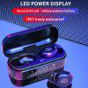 New Bluetooth wireless headset V8 LED touch screen with microphone